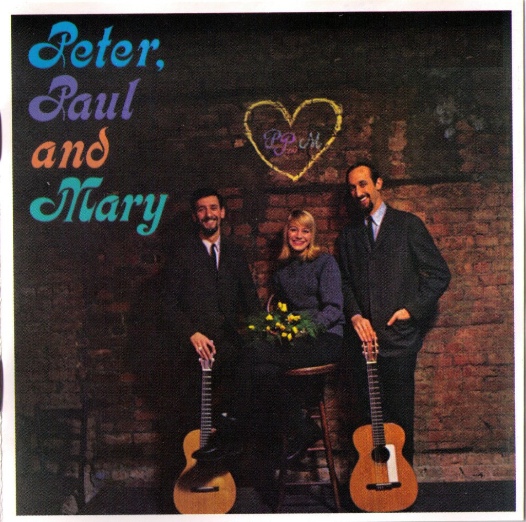 COVER PETER, PAUL AND MARY 1962