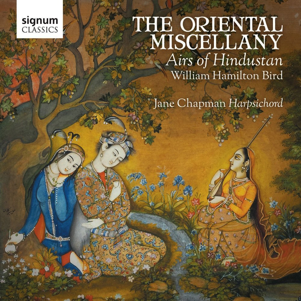 Cover Jane Chapman The Oriental Miscellany _ Airs of Hindustan - William Hamilton Bird