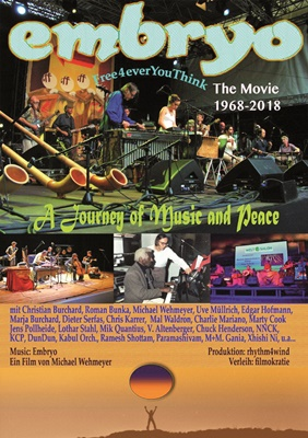 Plakat Embryo – A Journey of Music and Peace